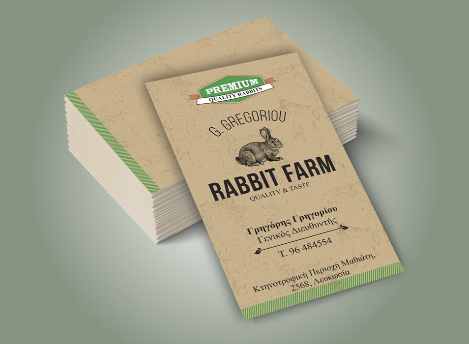 Farm Business Card Examples | Best Business Cards