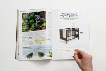 Ikea invites customers to 'pee on this ad' to check for pregnancy!