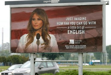Melania Trump ads removed from Croatian capital after legal threat