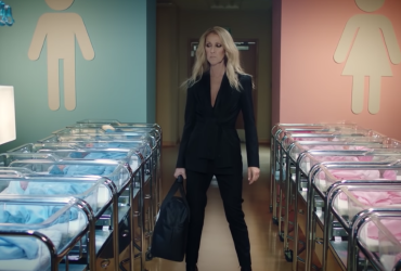 Céline Dion promotes her new gender-neutral clothing line