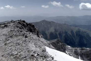 Nike honours 'Greek Freak' with basketball hoop on the top of Mount Olympus